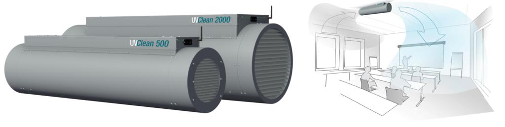Abbildung UV-C Filterröhren UVClean